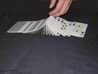Magic In A Glass Card Trick