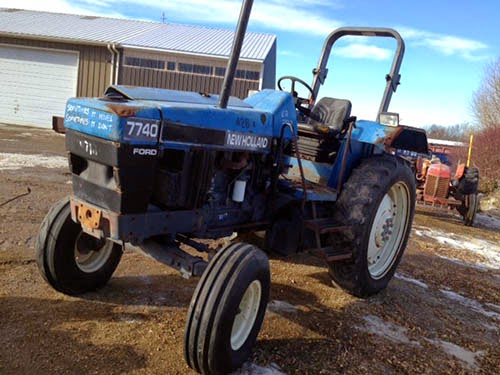 New Holland 7740 tractor parts