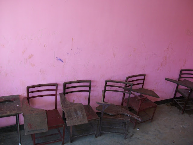 A Letter From The Abandoned Chairs by Jhecel