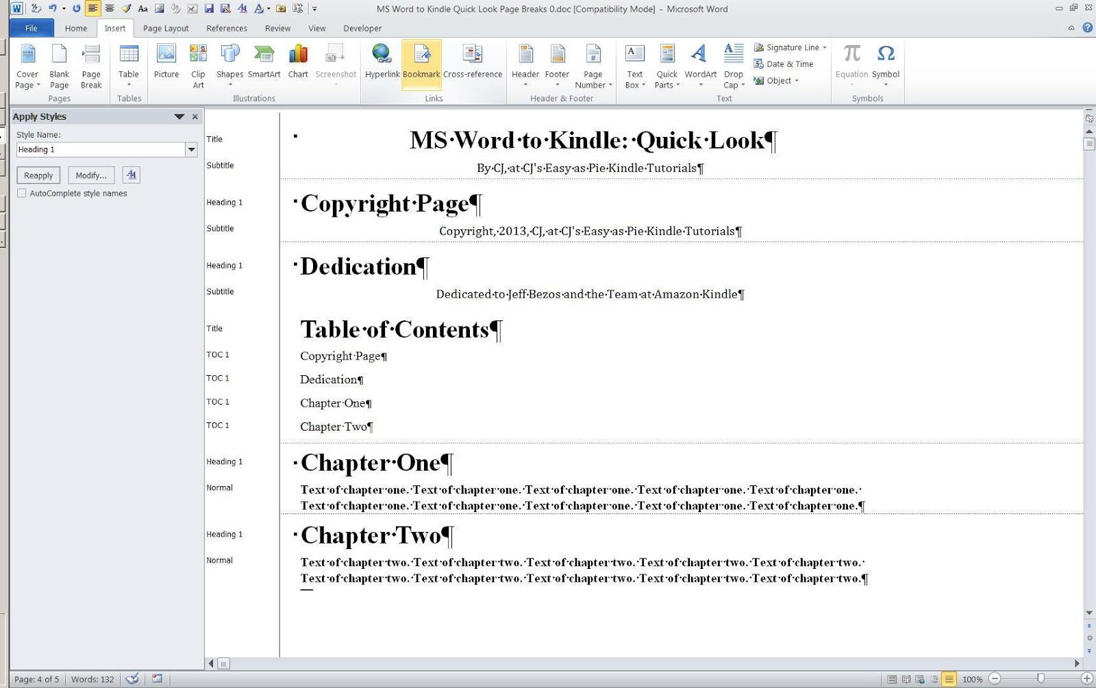 Kindle guide items array cjs easy as pie kindle tutorials ms word to kindle quick look rh cjs fandeluxe Images