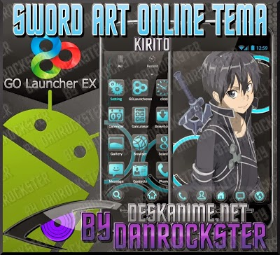 Theme Anime Sword art Online For Android