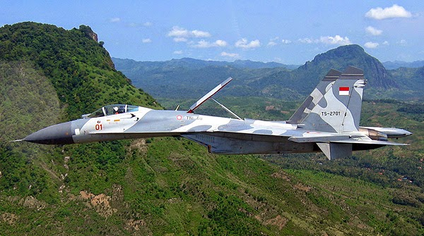 Sukhoi Su-27/30MKI Dukung Pengamanan UNAOC di Nusa Dua Bali