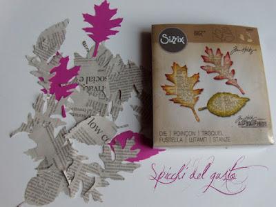 foglie di carta
