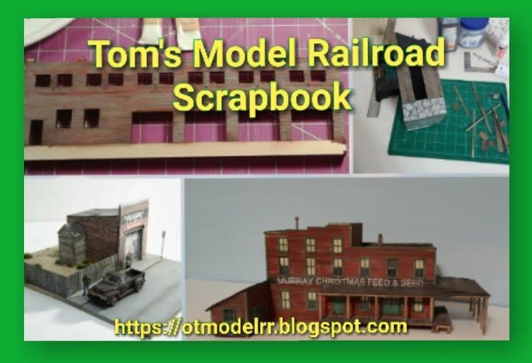 Tom's Model Railroad Scrapbook