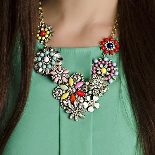 Crystal Bloom Necklace 11 Avenue