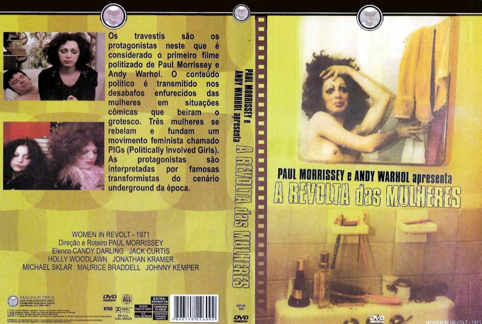 Capa DVD A Revolta Das Mulheres