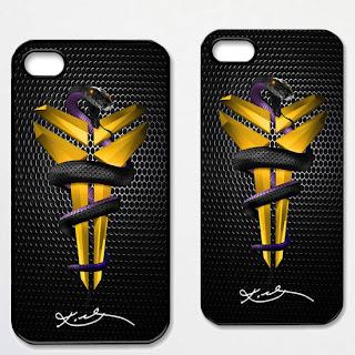 Kobe Bryant Black Mamba Lakers iPhone 4/4S 5 Case
