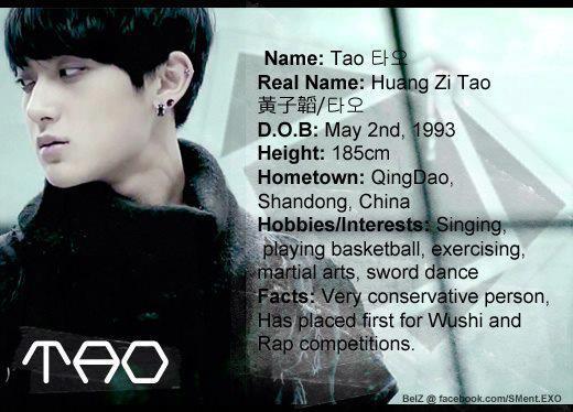 EXO Members Profiles