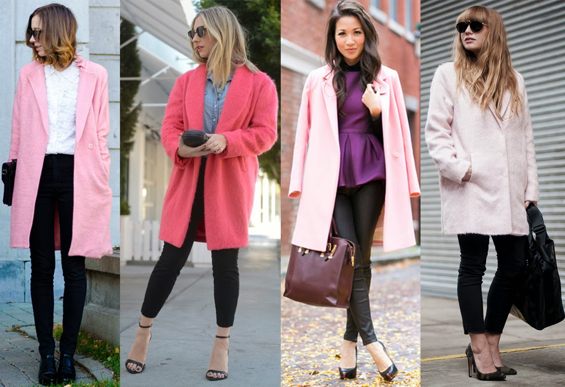 What To Wear With A Pink Coat - Coat Nj