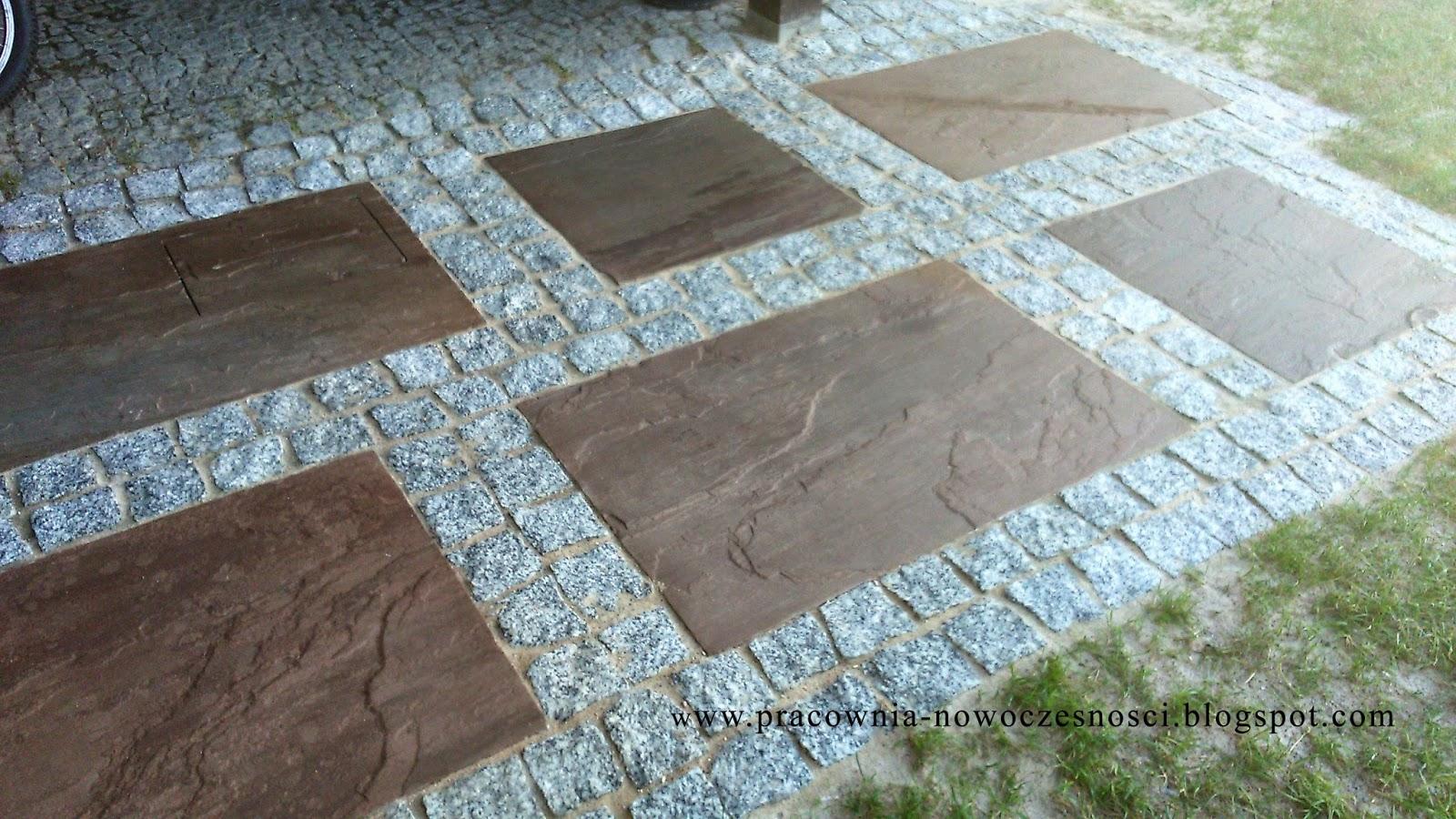 piaskowiec indyjski, kostka granitowa szara