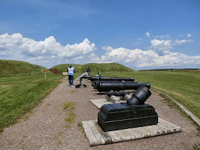 Fort Beausejour, in search of Acadians....