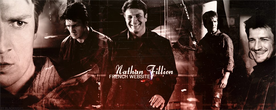 Nathan Fillion French Website