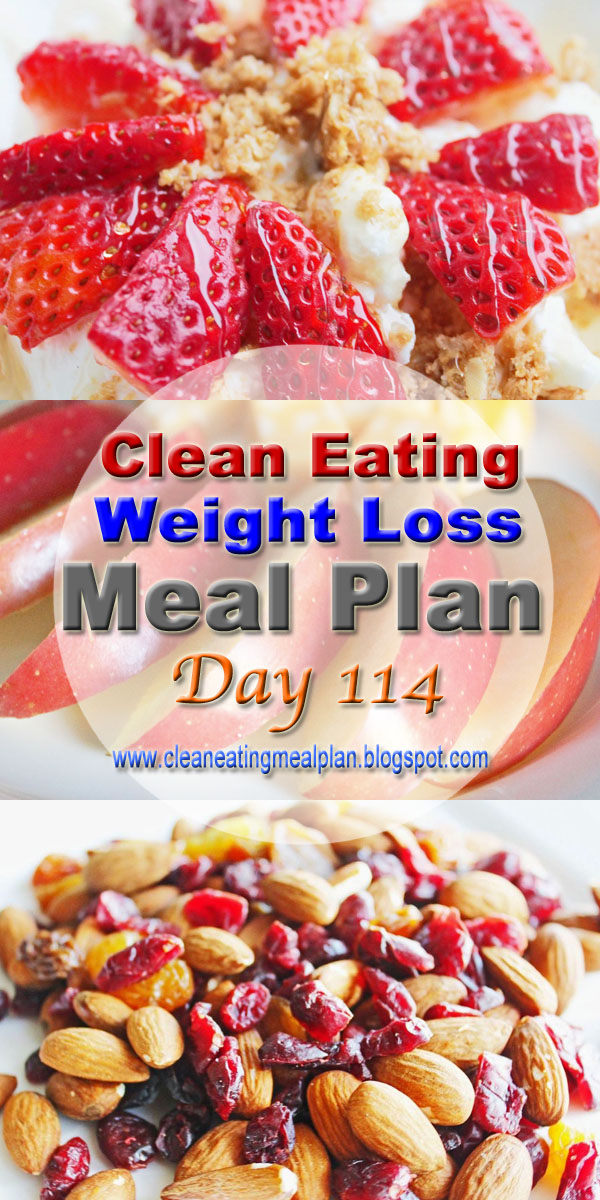 clean eating meal plan 114