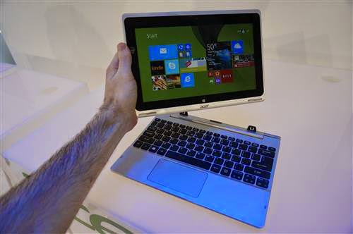laptop tablet dari Acer Aspire
