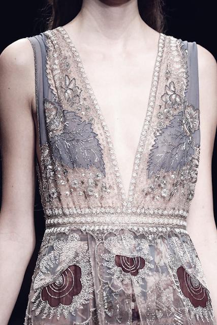 Valentino, Spring-Summer 2015 detail.