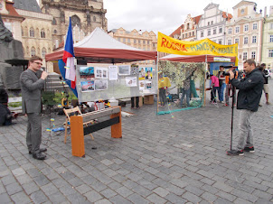 Prague Old Town Square :- Also a  venue for public demonstrations.