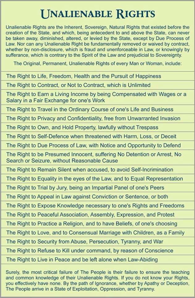 Bill of rights date in Australia