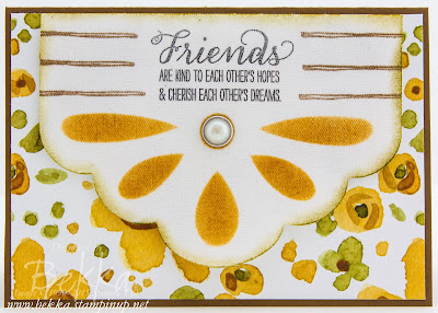 Garden In Bloom Pennant Friendship Card - check it out here