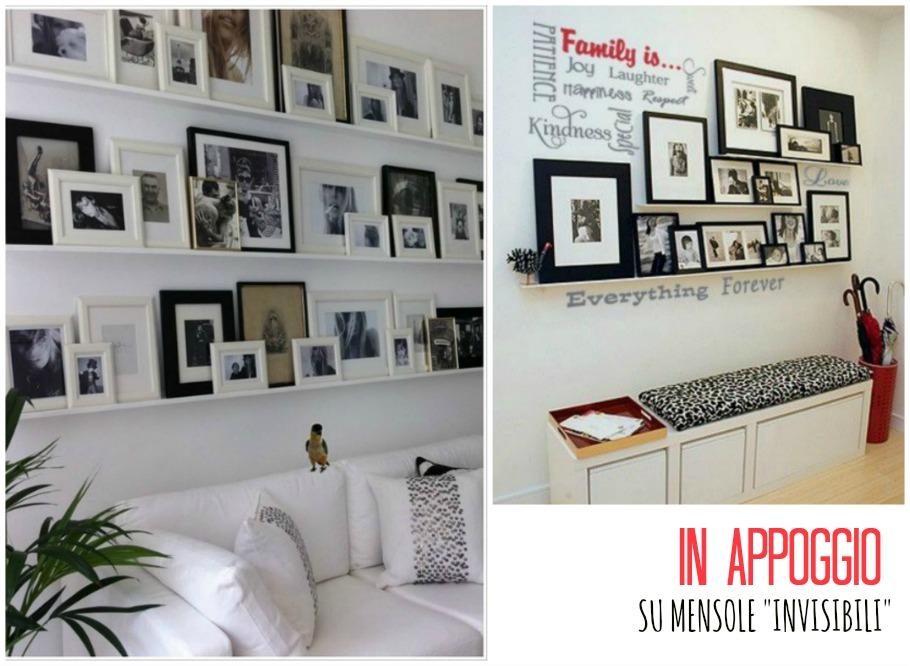Una casasumisura per loro frame wall for Mensole per quadri