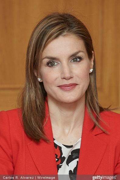 Queen Letizia of Spain visits the Artillery Military Academy