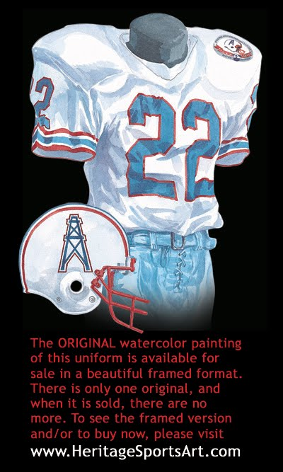 Tennessee Titans Uniform And Team History Heritage