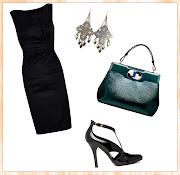 Vestido preto curto. (vestido preto)