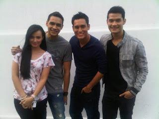 Asmirandah, Jonas Rivanno, Arifin Putra, Kevin Andrean