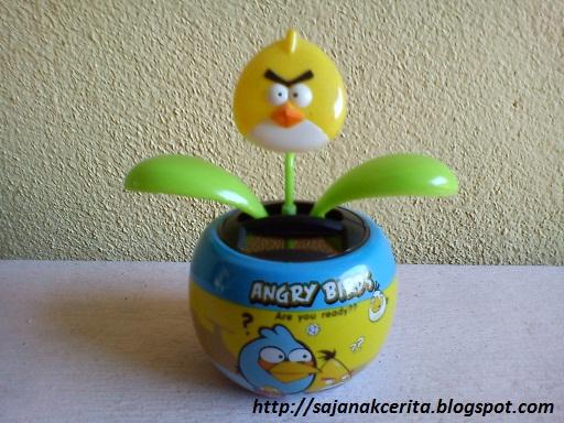 Angry Birds solar flip flap