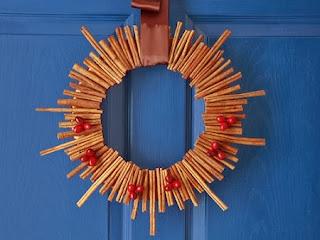 Coronas de Navidad con Materiales Naturales Secos, II Parte