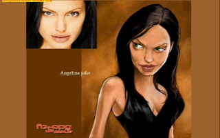 Angelina jolie funny image
