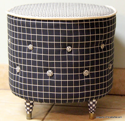 Recycled Sonotube. Make a Stool By Karen of The Feral Turtle