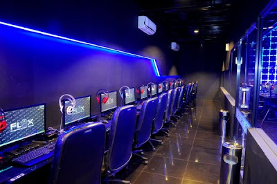 5 Cyber cafe yang super canggih ,terasa dalam Tron Legacy