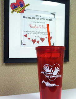 Big Hearts for Little Hands Cup for sell at Nicolosi & Fitch