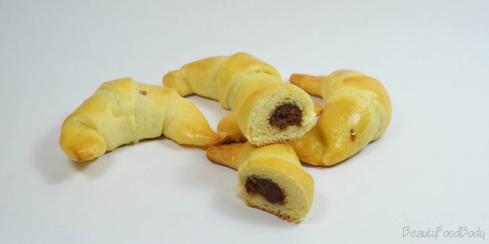 rubibeauty receta croissants rellenos beautyfoodbody