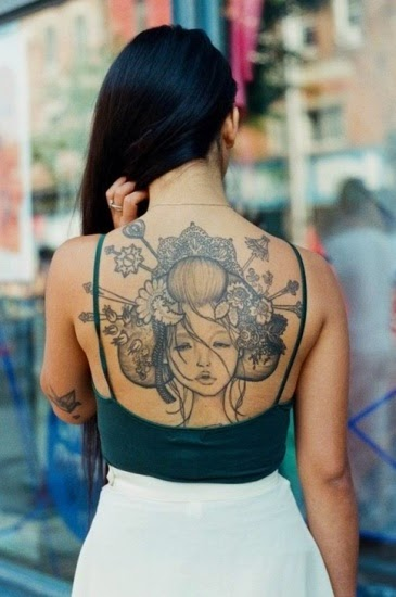 Top 3 Amazing Geisha Tattoo Designs