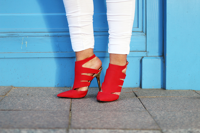 red amiclubwear shoes review