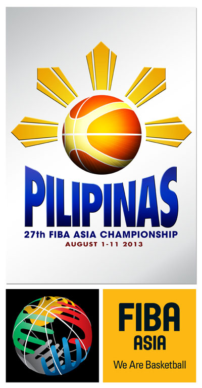 FIBA Asia Championship 2013 Logo