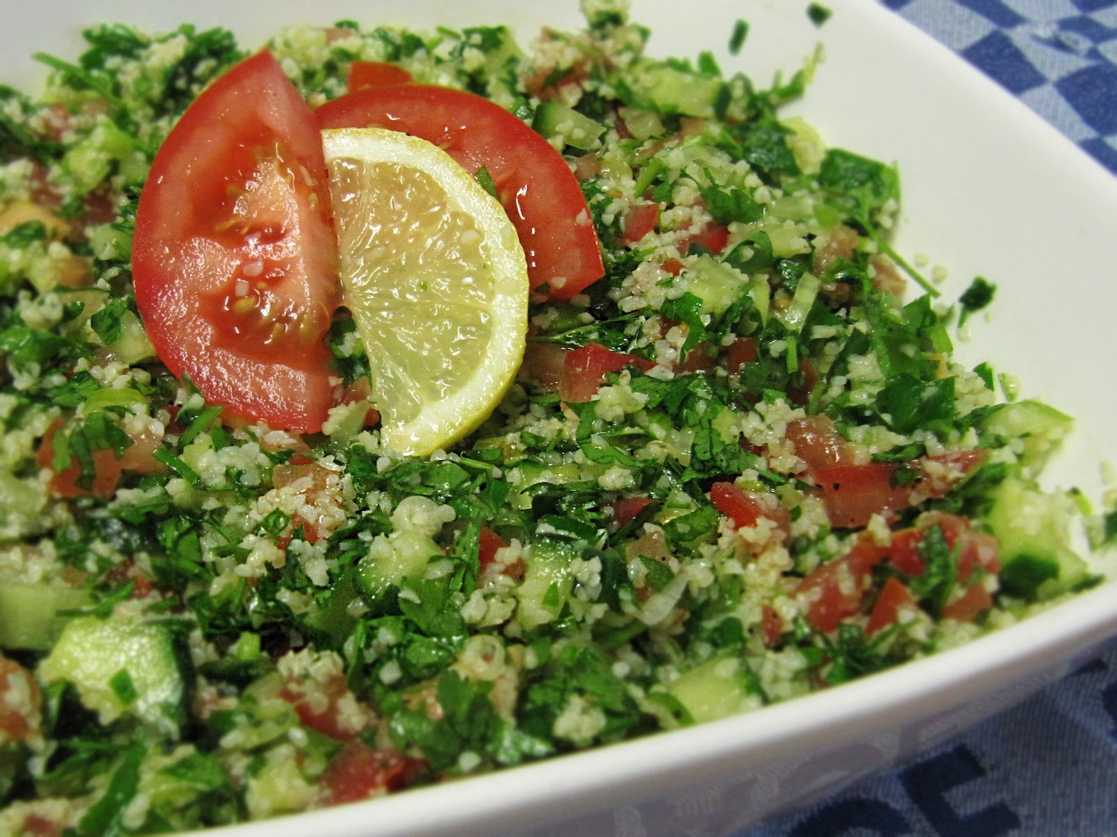 Lebanese Salad - Tabouleh