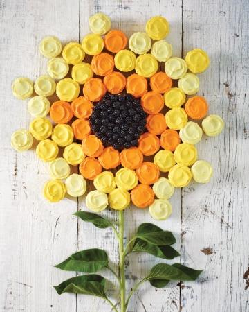 flor de cupcakes