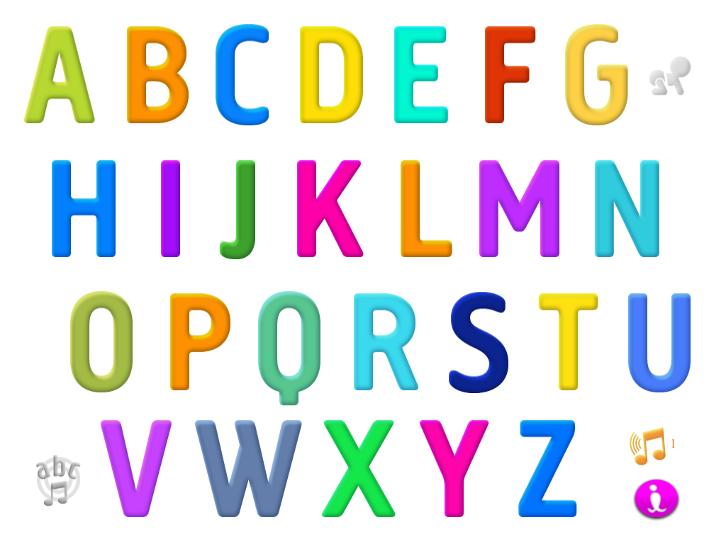 Worksheets The Alphabet our becker blog interactive alphabet app there are a few options to navigating the child can click on individual letters which go an letter card or they do alphabet