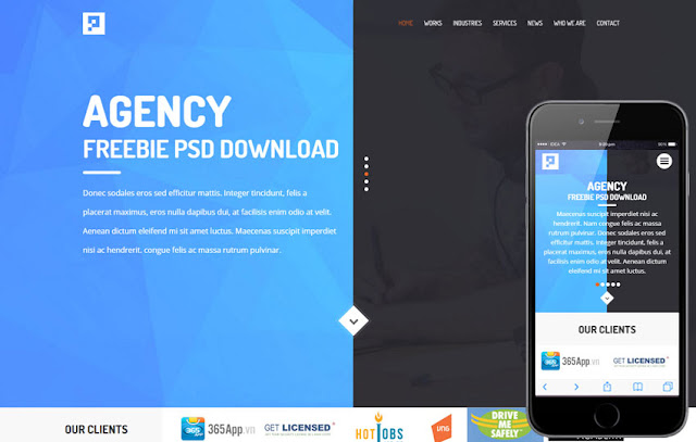Agency html5 template