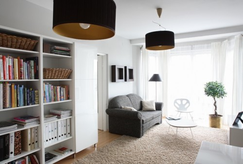 Interior For One Room Apartment