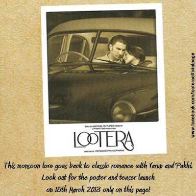 FIRST look of 'Lootera' starrer Ranveer Singh and Sonakshi Sinha