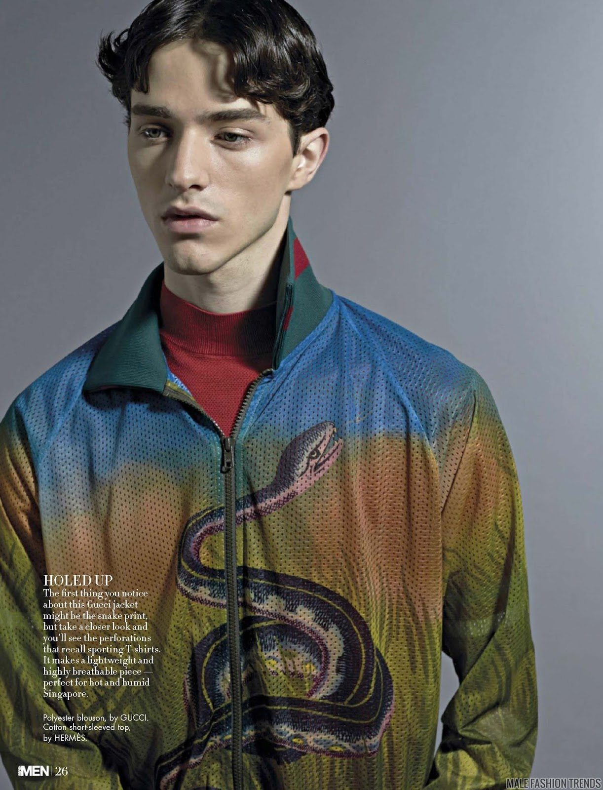 Martin @ AVE Models para Style: MEN Singapore Enero 2016