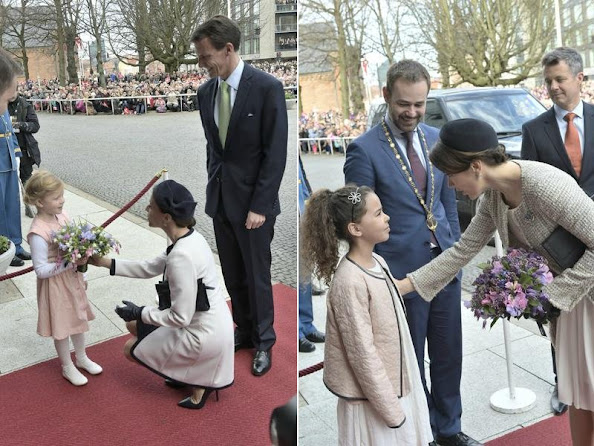 Crown Princess Mary and Crown Prince Frederik of Denmark, Princess Marie and Prince Joachim of Denmark