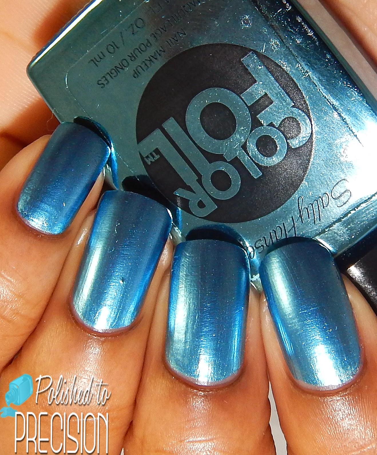 Sally Hansen ColorFoil Cobalt Chrome