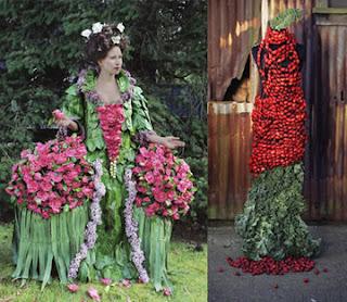 Flower Leaf Dress