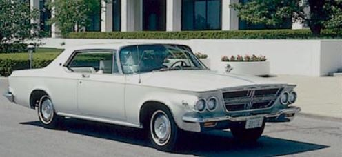 Ghost Cars The 1963 64 Chrysler 300 J Phscollectorcarworld