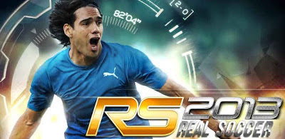 Real Soccer 2013 V.1.0.6 Offline Full Version [APK + DATA] Free Game
