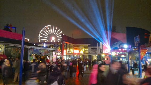 Carnival of Lights at Linnanmäki